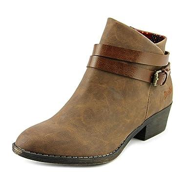 Sanborn Women Round Toe Faux Leather Bootie