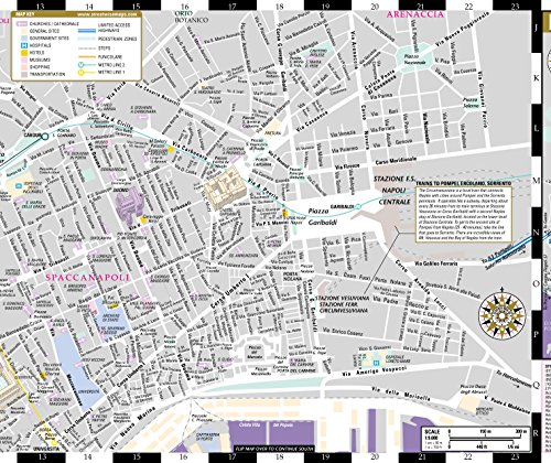Streetwise Naples Map - Laminated City Center Street Map of - Import ...