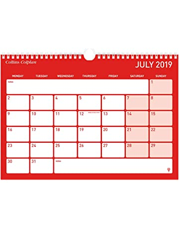 Calendario Con Week 2018.Amazon Co Uk Wall Planners