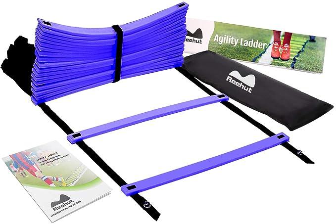 34 opinioni per Reehut Speed Ladder Marchio Borsa di Trasporto – Scaletta da 8 Gradini, Colore
