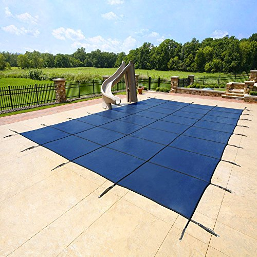 18'x36' Blue Mesh - Rectangle Inground Safety Pool Cover ...