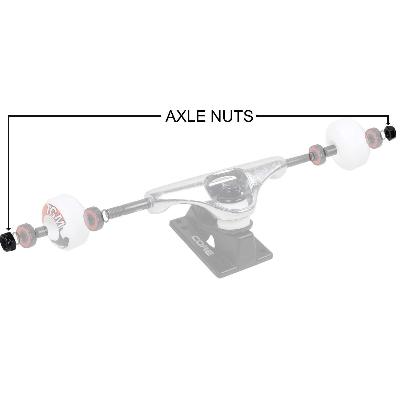 Skateboards 4 Axle Nuts Skateboard