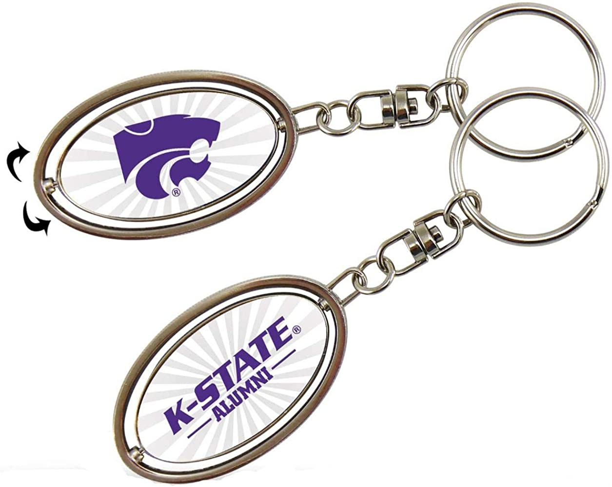 Rico NCAA Alumni Spinner Key Chain