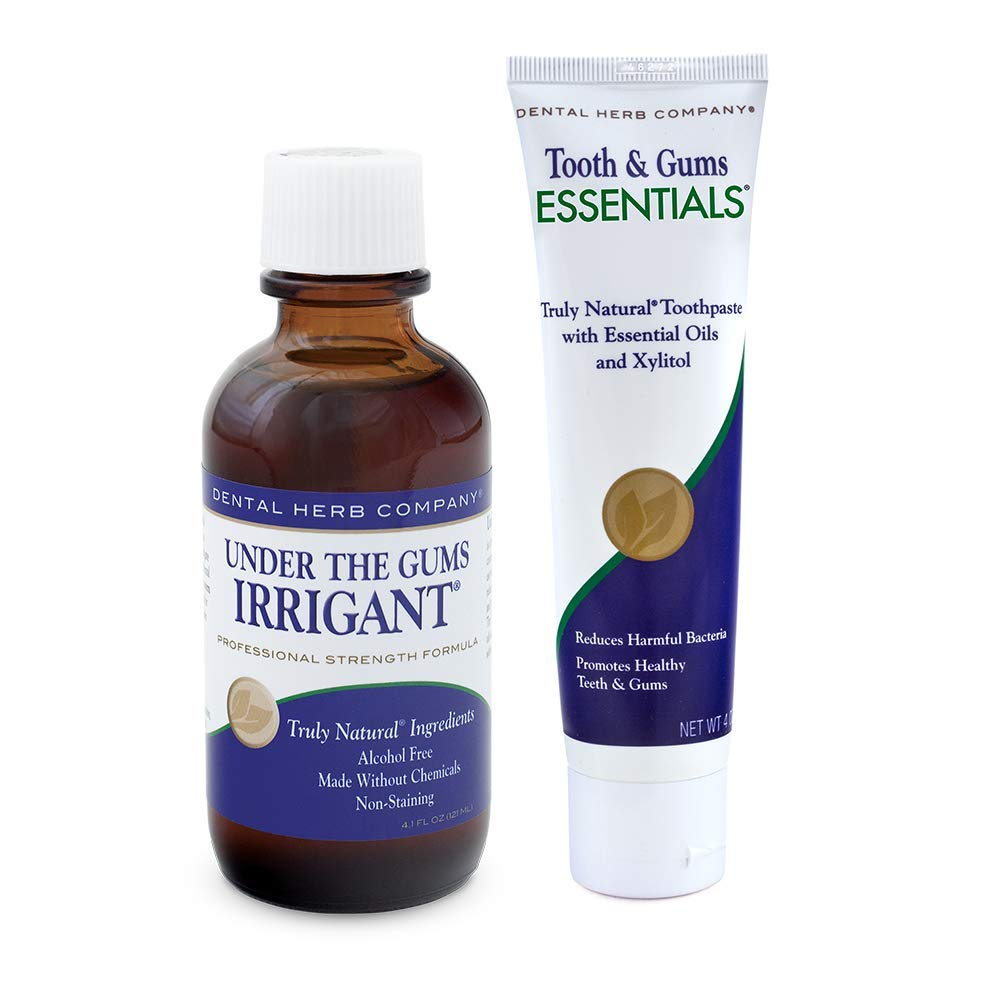 Dental Herb Company - Under The Gums Irrigant Concentrate & Essentials Toothpaste Kit