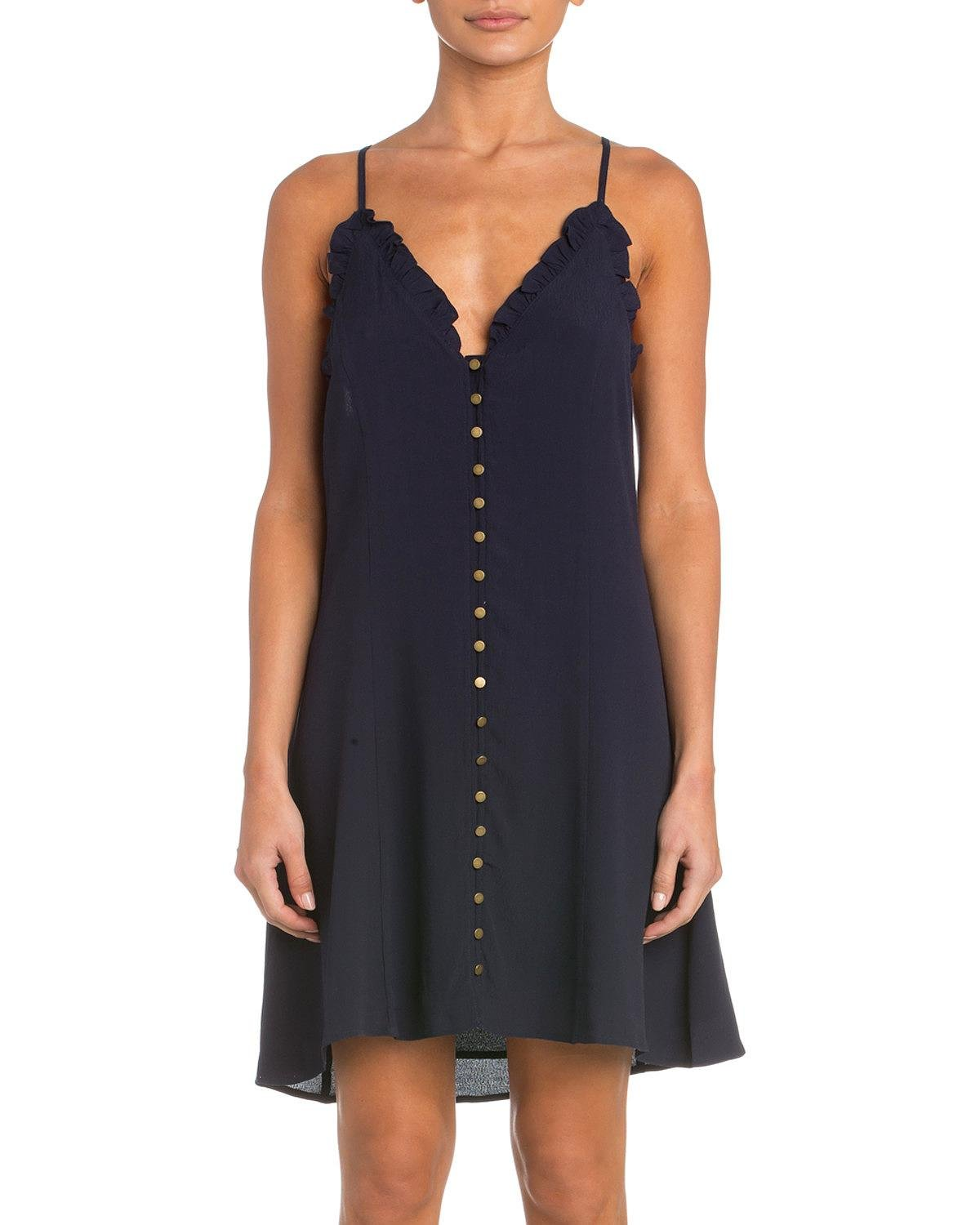 Miss Me Women's The Real Thing Dress Navy Medium