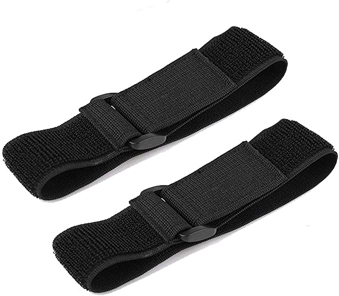 2pc Bike Bicycle Outdoor Ankle Leg Bind Bandage Trousers Pant Bands Clips StODCA
