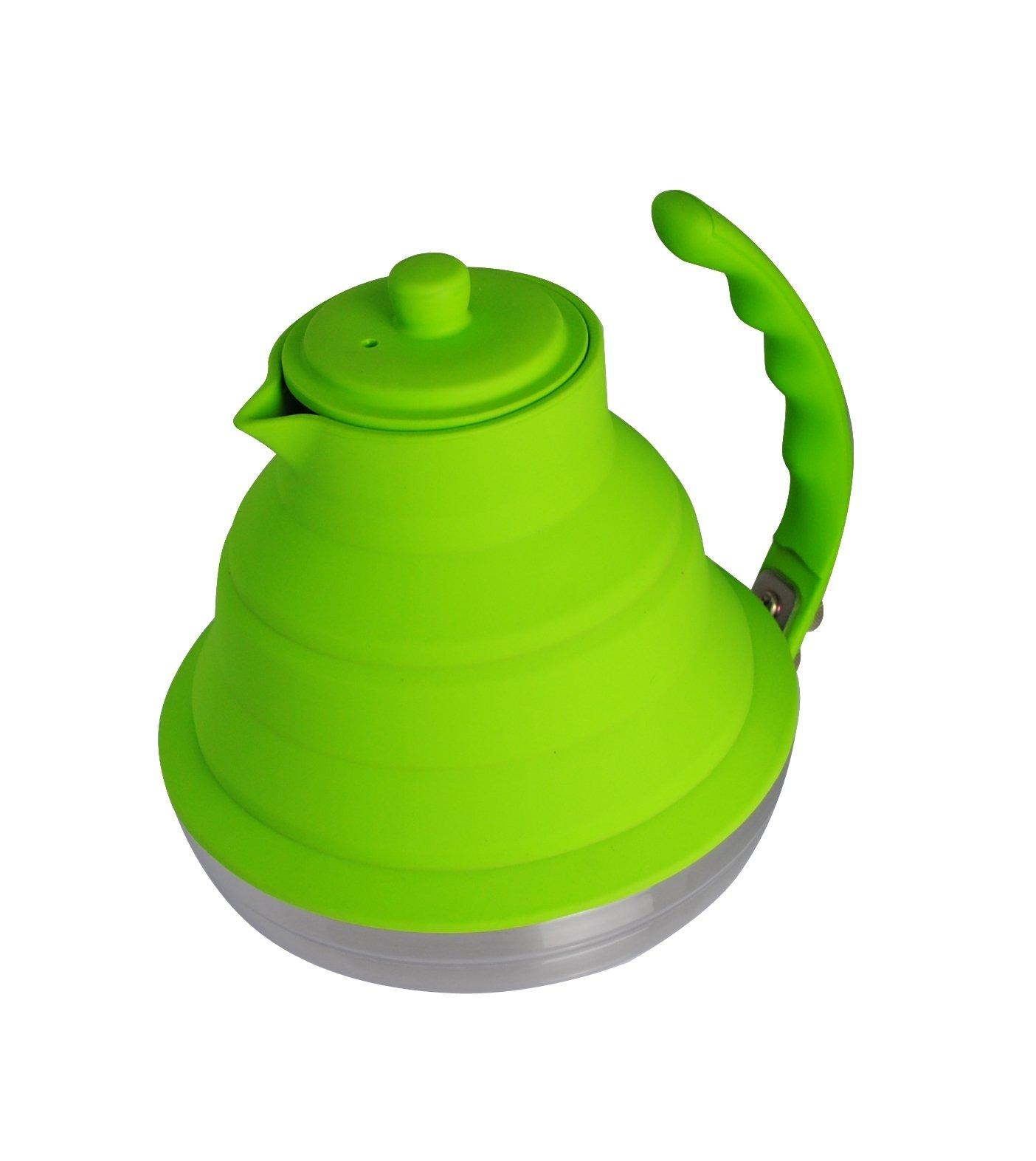 Better Houseware Collapsible Tea Kettle, Lime Green