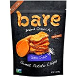 Bare Gluten Free Baked Crunchy Sweet Potato Chips, Sea Salt, 8 Count