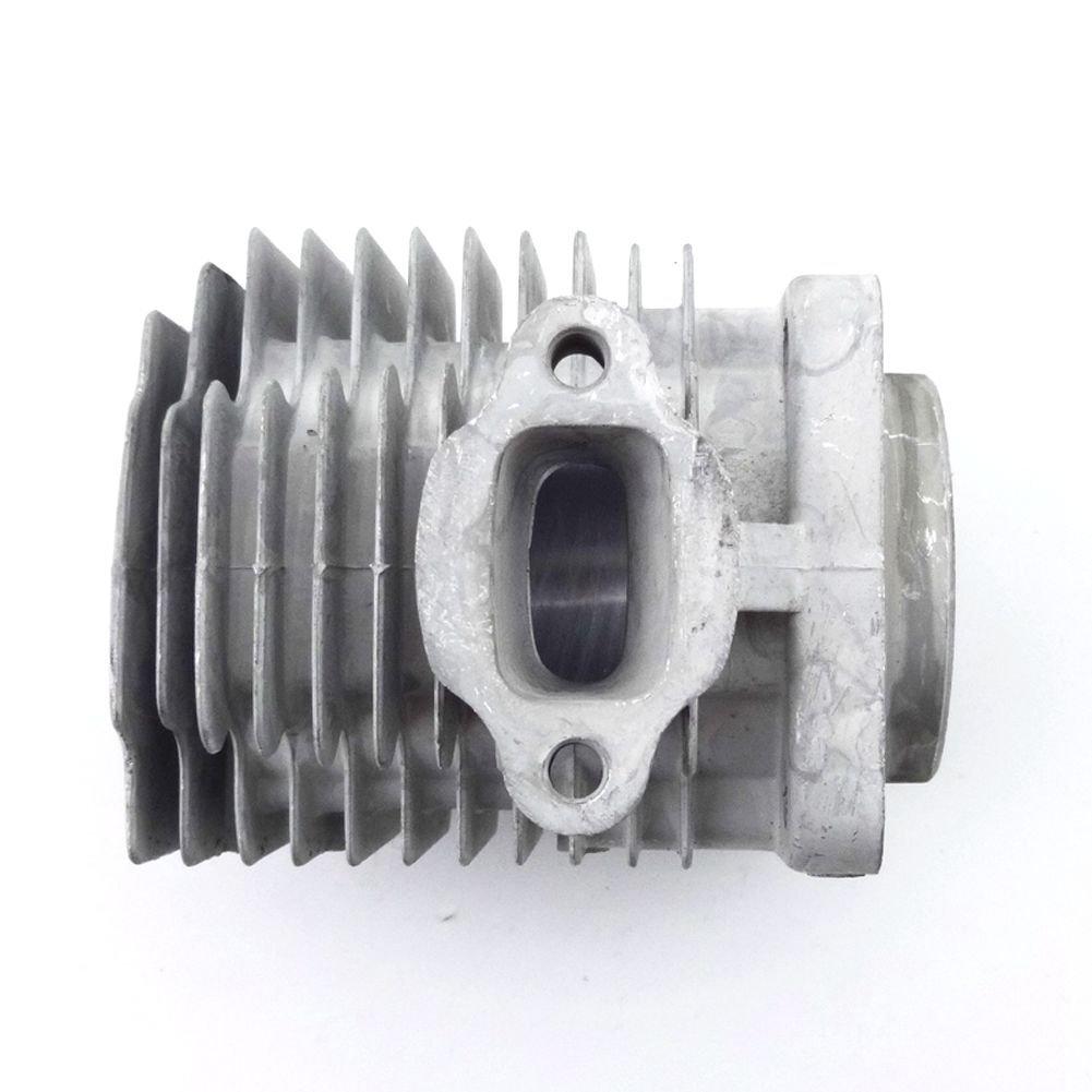 stoneder 44/mm cilindro cabeza para 2/tiempos 49/cc motor partes chino Minimoto Pocket Dirt Bike Mini Quad ni/ños ATV beb/é Crosser