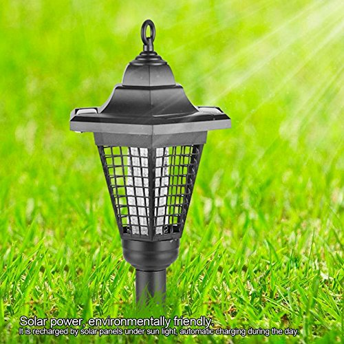 Zapper Killer UV Lamp Garden Yard Walkway Lawn Landscape Outdoor Light by LitleMat (Image #2)