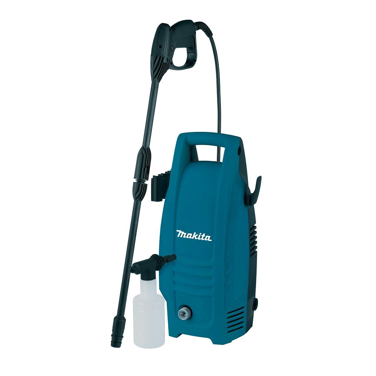 Auch Makita, bekannt für qualitatives Werkzeug und Gartenprodukte, stellt Hochdruckreiniger her.
