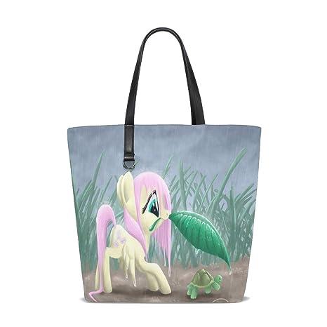 Amazon.com   Mylittlepony Rain Sweet Tote Bag Purse Handbag ...