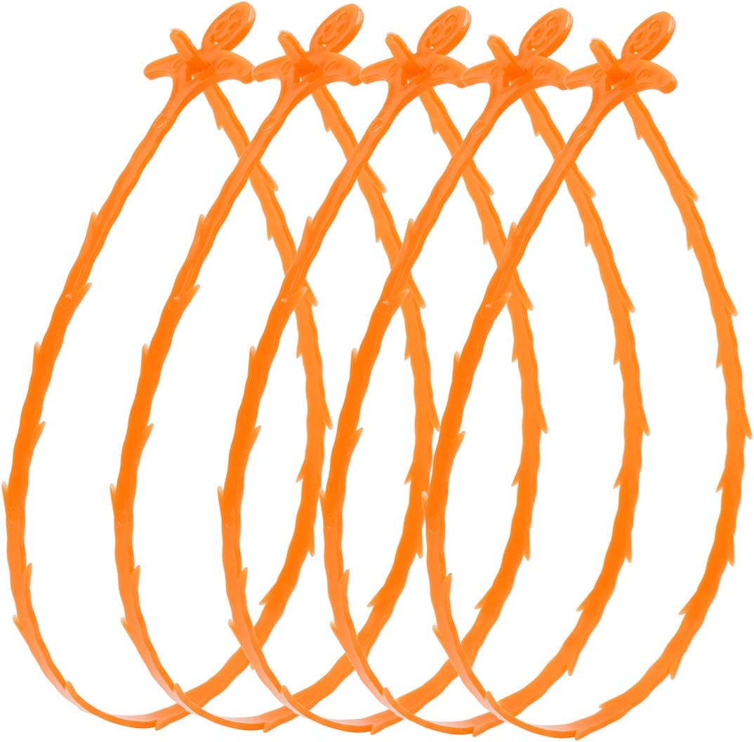 3//5pcs Drain Hair Cather Drain Snake Shower Drain Hair Trap Clog Remover N9W5
