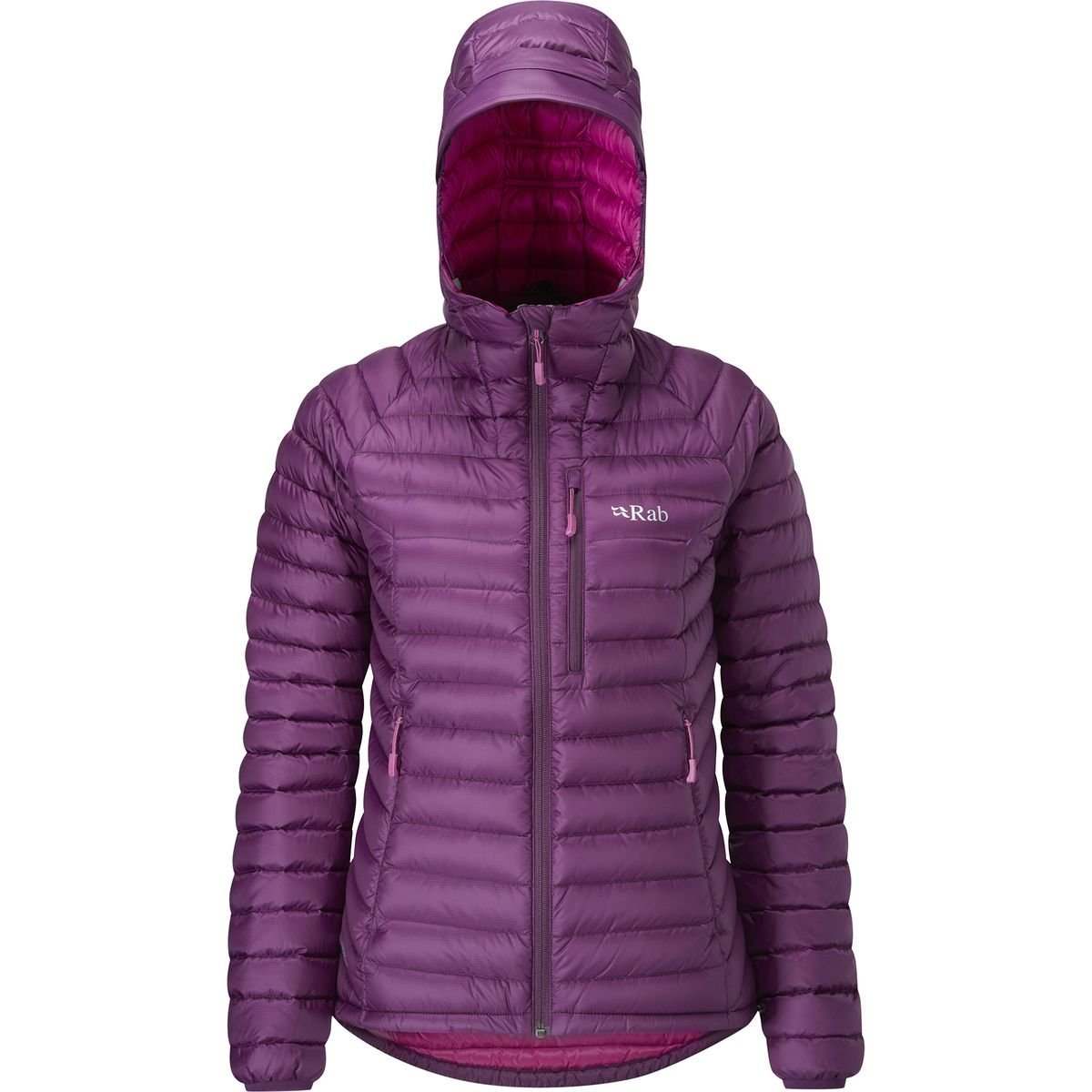 RAB Microlight Alpine Down Jacket - Women's Berry/Tayberry, M