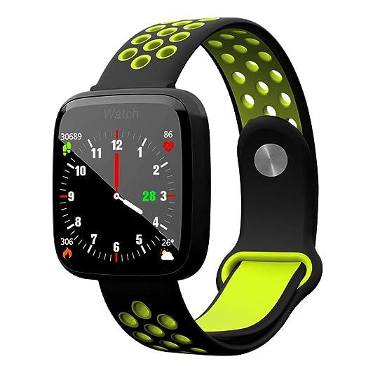 JASZHAO Bluetooth Sport Swim Smart Watch Gorilla Glass ...