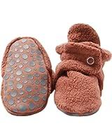 Zutano Baby Boys' Cozie Fleece Booties with Grippers