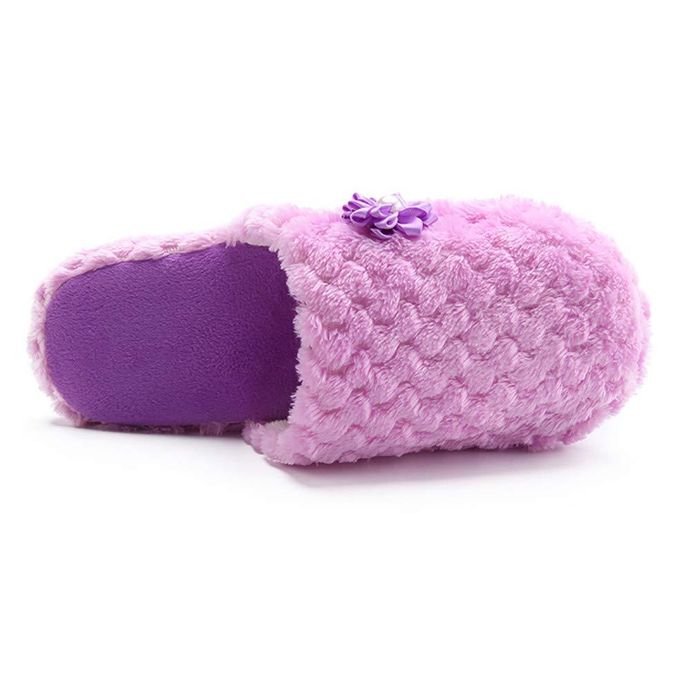 Sneakers Donna ASHOP Le Donne Scarpe Calde Pantofole Solide al Chiuso Anti-Scivolo  Casa Invernale Scarpe Infradito Scarpe Donna Autunno e Inverno Tacco  ... b67fed8fe8d