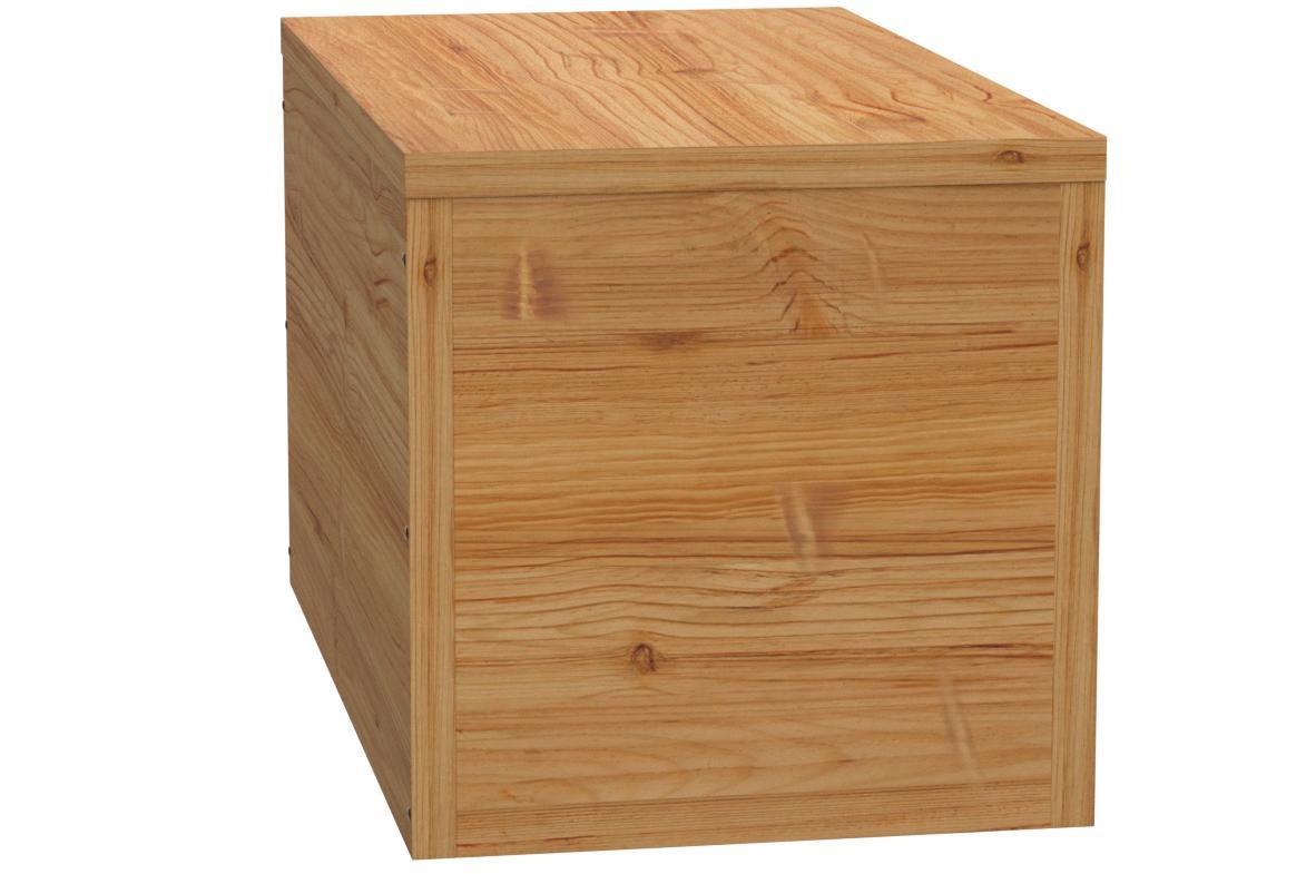 TOTAL WOOD 2012 Coffre Banc de Rangement en Bois enterieur Exterieur Jardin 100x40x45 cm /également Disponible sur Mesure!