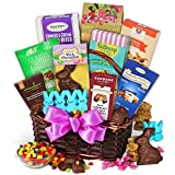 GourmetGiftBaskets Easter Sweets and  Treats Basket