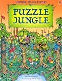 img - for Puzzle Jungle (Usborne Young Puzzle Books) book / textbook / text book