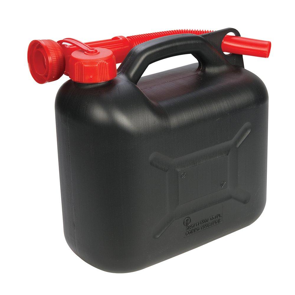 Silverline 847074 - Carburante in plastica può - 5 l, verde Silverline Tools Ltd.