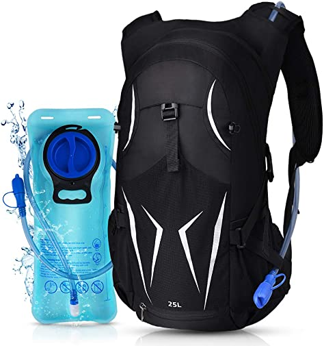 VBG VBIGER Hydration Pack Backpack Water Backpack 2L Hydration Water Bladder for Cycling Hiking Running