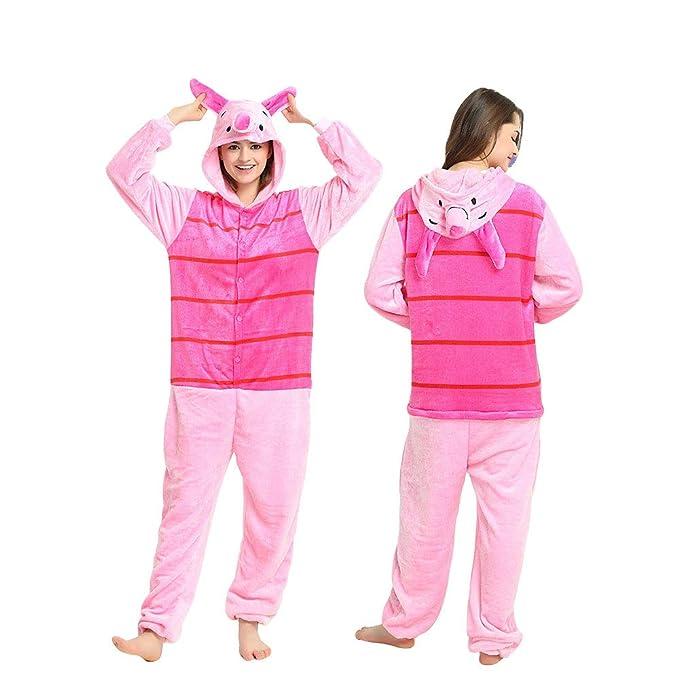 Pijama de una sola pieza y con capucha, diseño de Winnie the Pooh, Winnie the Pooh, M(160CM-170CM): Amazon.es: Hogar