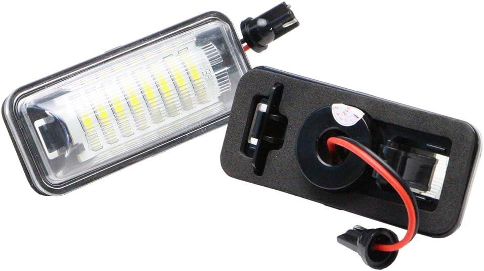 LED License Plate Light for Subaru BRZ FT-86, Subaru NSLUMO Led Number Plate Lamp Rear Registration Tail License Plate Light Bulb OEM Fit for Subaru BRZ WRX Toyota 86 GT86 FT86 Scion FR-S