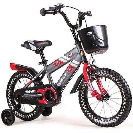 Minmin-chezi Bicicleta para niños de 3-6 años de Edad, niño y niña ...