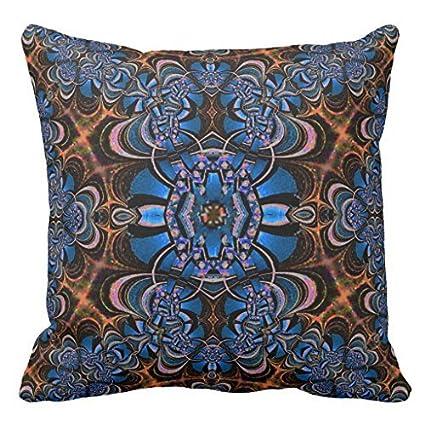 Amazon Blue Jeweled Belt On Brown Velvet American Mojo Pi Gorgeous Jeweled Decorative Pillows