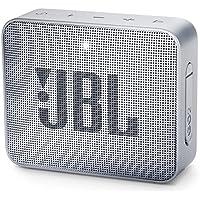 JBL GO 2 Portable Bluetooth Waterproof Speaker, grey, 4.3...