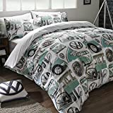 Volkswagen Classic Details UK Double/US Full Duvet Cover and Pillowcase Set