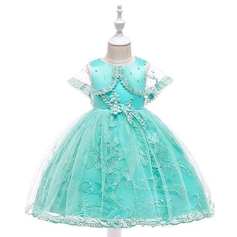 ZSRHH-Falda Vestido de Mujer Bowknot Vestido de Princesa de Encaje ...