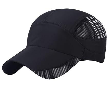 Aivtalk Stripes Summer Baseball Cap Quick Dry Cooling Sun Hats Flexfit  Sports Caps Mesh Hat for ac1b2750a5f