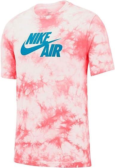 NIKE M NSW tee Air Tye Dye Camiseta, Hombre: Amazon.es: Ropa y accesorios