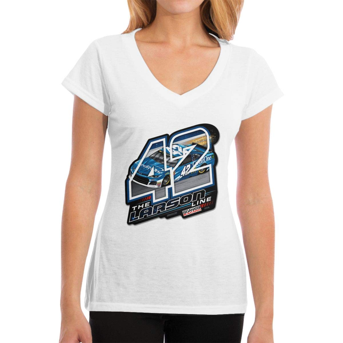 Short Sleeve Kyle-larson-larson-line T-shirt
