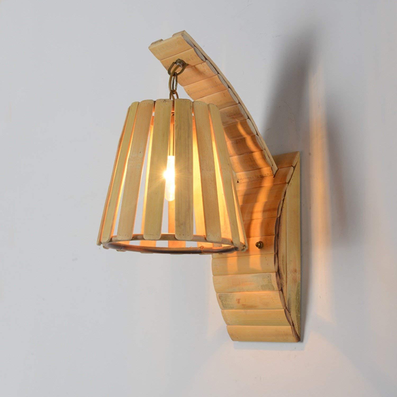 Il Bambù Lampada Da Parete Bar Agriturismo Teahouse Decorazione Progetto Illuminazione Illuminazione Personalità Creative Lampada Da Parete (Alta 480Mm  Distanza Dalla Parete Lampada 260Mm)