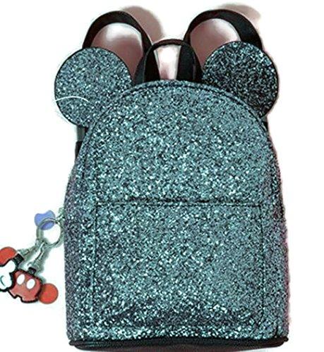 50-70% de descuento tienda de descuento oficial mejor calificado Primark - Bolsa escolar Negro Black - Glitter 29 x 21 x 9 cm ...