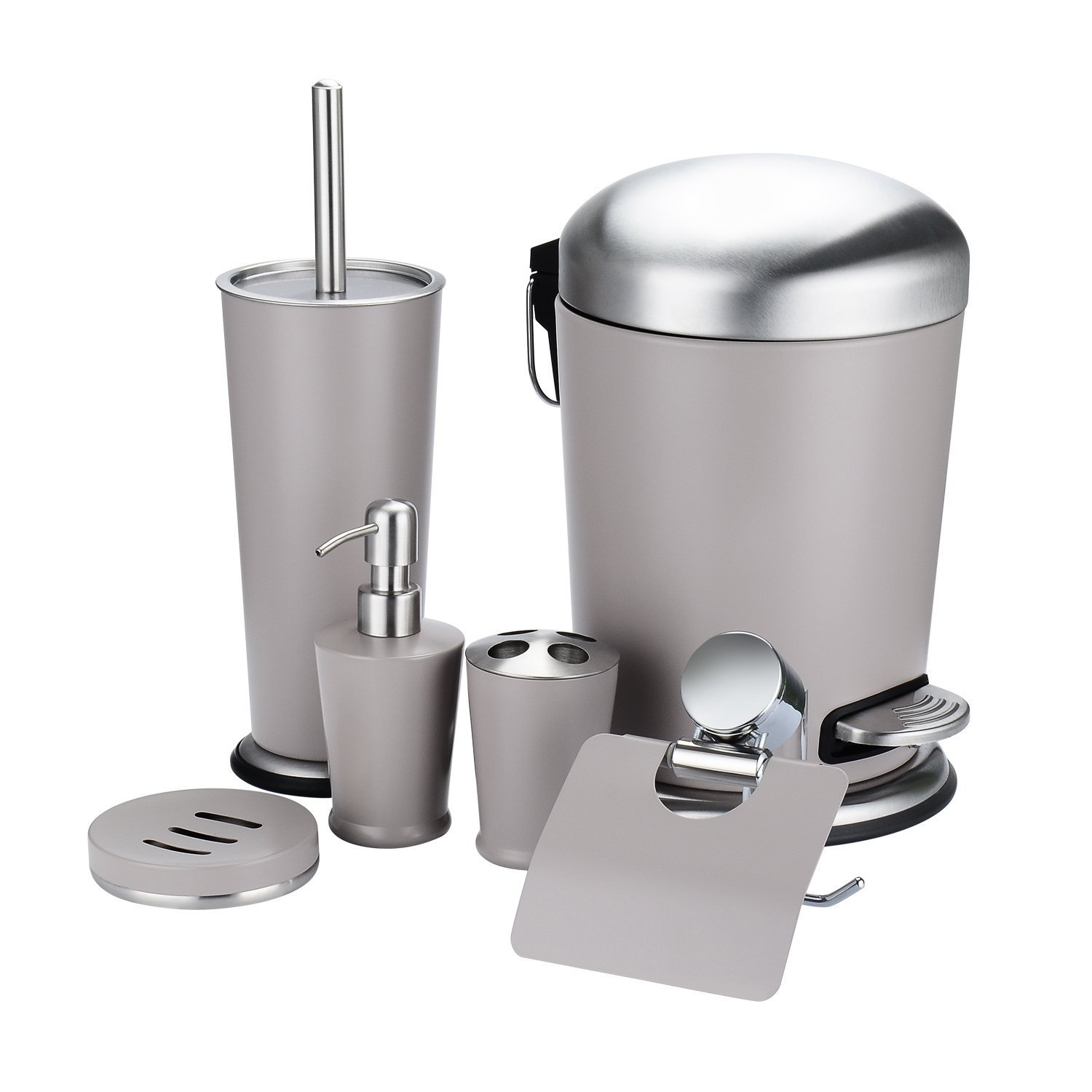 hot sale Fortune Candy Bathroom Accessories Set of 6, Stainless ...