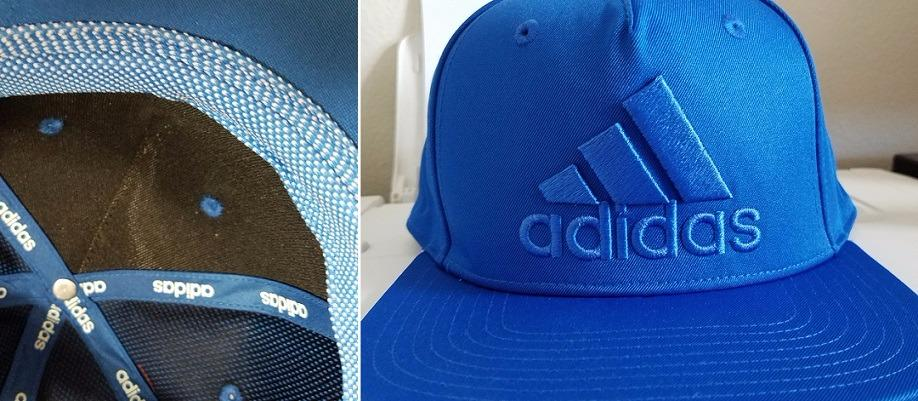 adidas Men's Originals Mens Men's originals snapback flatbrim cap I have a smallish head (my fitted hats are 7 or a little smaller) so this fits a tad large but the material inside is soft making it very comfortable to wear