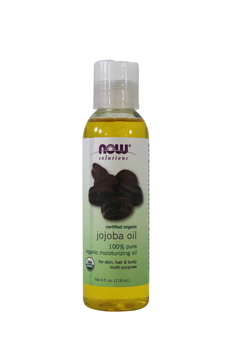 Now Foods: Organic Jojoba Oil, 4 oz (2 pack)