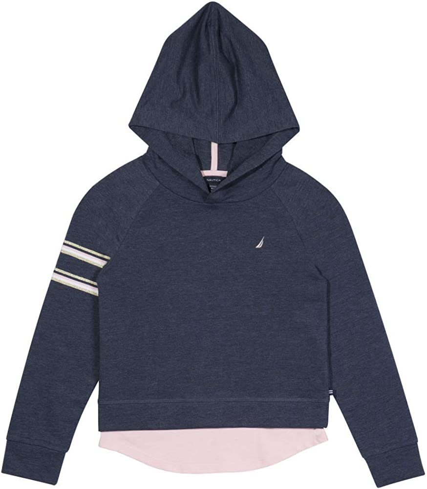 Nautica Girls Long Sleeve Fleece Hoodie