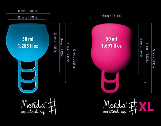Merula Cup XL Fox (Orange) – The Menstrual Cup for Those Very Heavy Days