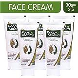 Roop Mantra Ayurvedic Fairness Face Cream 30gm (Pack of 5)