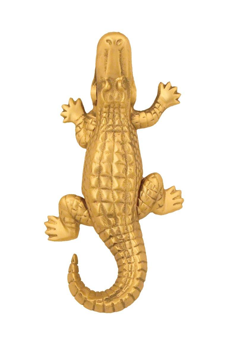 Brass Alligator Door Knocker Standard Size