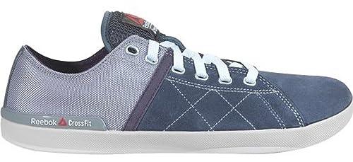 Reebok Crossfit Lite Lo Tr - Zapatillas de Piel para hombre Azul Blue Grey, color Azul, talla 45: Amazon.es: Zapatos y complementos