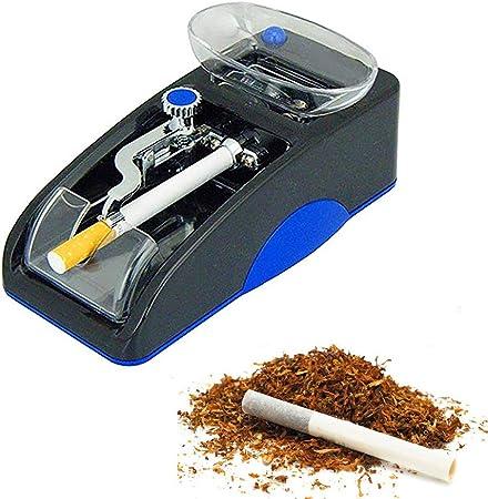 HosDevice Maquina De Entubar Cigarrillos - Portátil Maquina De Liar Tabaco Electrica, con Embudo Transparente, para Regalo De Cumpleaños De Padre Y Maestro Blue: Amazon.es: Hogar
