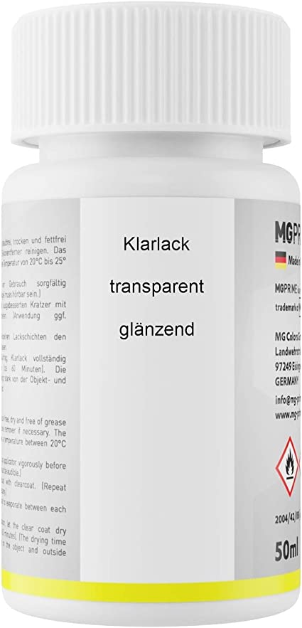 Mg Prime Autolack Lackstift Set Für Mercedes 904 5904 Dunkelblau Classicblau Uni Basislack Klarlack Je 50ml Auto