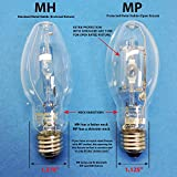 MH100/U/4K/ED17 100W Metal Halide Lamp MED M90/E