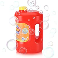 Kidoodler Bubble Solution 64 oz (Can Make 5 Gallon), Non-Toxic Bubble Solution Refill, Concentrated Bubble Solution for…